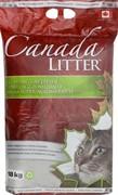 CANADA LITTER Канадский комкующийся наполнитель Запах на Замке, без запаха 18 кг