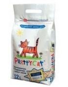 PRETTY CAT Древесный наполнитель (Wood Granules) 23 кг