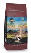 Landor GRAIN FREE FOR CATS HAIRBALL&WEIGHT CONTROL Сухой корм для кошек с функциями контроля веса и образования комочков шерсти