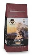 Landor INDOOR CAT - Полнорационный сухой корм для кошек, живущих в помещении утка с рисом (2 кг)