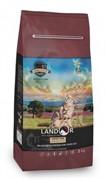 Landor GRAIN FREE FOR CATS HAIRBALL&WEIGHT CONTROL Сухой корм для кошек с функциями контроля веса и образования комочков шерсти (2 кг)