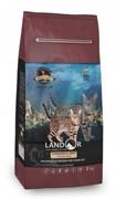 Landor STERILIZED &LIGHT for a CAT - Сухой корм для стерилизованных котов и кошек с лишним весом на основе мяса утки (2 кг)