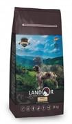 Landor ADULT DOG с мясом ягненка - сухой корм на каждый день для взрослых собак крупных пород