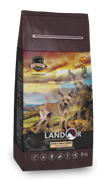 Landor ADULT SMALL BREED DOG - Полнорационный сухой корм для взрослых собак мелких пород ягненок с рисом