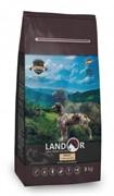 Landor ADULT DOG с мясом ягненка - сухой корм на каждый день для взрослых собак крупных пород (15 кг)