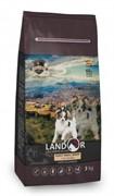Landor ADULT SMALL BREED DOG с мясом утки сухой корм для маленьких пород зрелого возраста (15 кг)