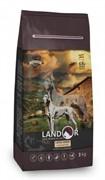 Landor ADULT LARGE BREED DOG с мясом ягненка (15 кг)