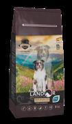 Landor DOG SENIOR&ADULT - Полнорационный сухой корм для пожилых и взрослых собак всех пород (15 кг)