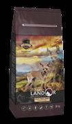 Landor ADULT SMALL BREED DOG - Полнорационный сухой корм для взрослых собак мелких пород ягненок с рисом (3 кг)