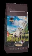 Landor PUPPY LARGE BREEDS LAMB WITH RICE - Полнорационный сухой корм для щенков крупных пород от 1 до 18 месяцев ягненок с рисом (15 кг)