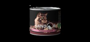 Landor TURKEY WITH CRANBERRIES FOR CATS для стерилизованных взрослых кошек индейка с клюквой