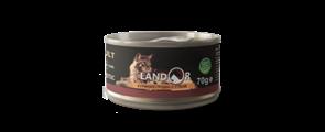 Landor ADULT CATS CHIKEN BREAST WITH DUCK - Дополнительное питание для взрослых кошек куриная грудка с уткой