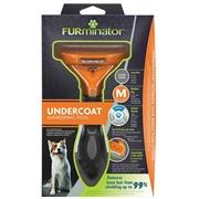 Фурминатор FURminator M для средних собак с длинной шерстью