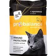 ProBalance Immuno Protection с кроликом в соусе, пауч 85 гр