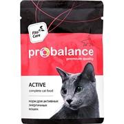 ProBalance Active для активных кошек, пауч 85 гр