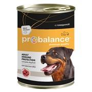 Probalance Adult Immuno Protection Корм консервированный для собак с говядиной, 850 гр