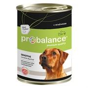 Probalance Sensitive Корм консервированный для собак с ягненком, 850 гр
