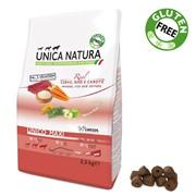 Unica Natura Unico Mini оленина/рис/морковь