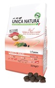 Unica Natura Unico Maxi ягненок/рис/боб садовый 12 кг