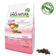 Unica Natura Unico Mini лосось/рис/горох 7,5 кг