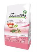Unica Natura Unico Indoor лосось/рис/яблоко