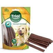Мясные полоски из кролика для собак, 70г, Triol