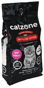 Наполнитель Catzone Baby Powder (Бэйби Паудэр) - 5,2 кг
