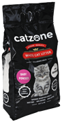 Наполнитель Catzone Baby Powder (Бэйби Паудэр) пакет - 10кг