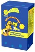 Доброзверики подгузники для животных  XS (обхват 30-45 см) 22 шт