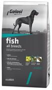 Голози Рыба и рис, сухой корм для собак
