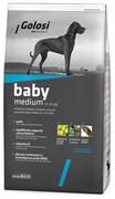 Голози Бэйби Медиум Курица и рис, сухой корм для собак 20 кг
