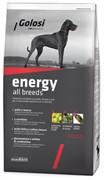 Голози Энергия Курица,Говядина и Рис сухой корм для собак  (12 кг)
