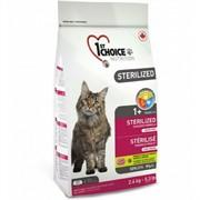 1st Choice для стерилизованных кошек 1st Choice Adult для профилактики МКБ, беззерновой, с курицей 5 кг