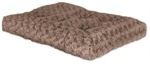 MidWest лежанка Ombre плюшевая с завитками 89х58 см мокко