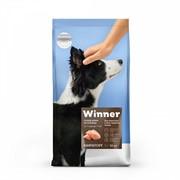 WINNER сухой корм  д/взрослых собак средних пород, курица (3 кг)