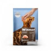 WINNER сухой корм д/взрослых кошек всех пород,курица (2 кг)