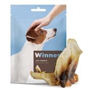 Winner Лакомство Говяжьи уши (сухое) для собак 70 гр