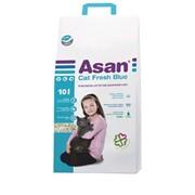 Наполнитель для кошачьих туалетов Асан Asan Cat Fresh Blue 10L, бумажный
