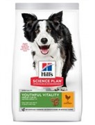 Hill's Hills SP Canine Adult 7+ Youthful Vitality Medium Breed with Chicken & Rice (12 кг)