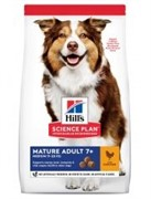 Hills SP Canine Mature Adult 7+ Active Longevity  Medium with Chicken (12 кг)