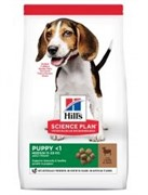 Hills SP Canine Puppy Healthy Development Medium Lamb & Rice- корм для щенков Ягненок с Рисом (12 кг)