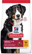 Hills SP Canine Adult Advanced Fitness Large Breed с курицей Хилс Сухой корм для крупных пород с курицей (12 кг)