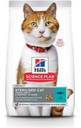 Hills SP Feline Adult Sterilised Cat Tuna Хиллc корм для стерилизованных кошек до 6 лет Тунец 10 кг