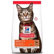 Hills SP Feline Adult Optimal Care с Ягненком- Хиллс Эдалт корм для кошек (с ягненком) ( 10 кг)