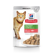 Hills Feline Adult 7+ Youthful Vitality with Salmon
