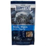 Happy Cat  Угощение /лосось форель/  50 г