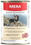 Pure Sensitive  MEAT  Geflügelherzen 400г (консервы для собак с куринными сердечками)
