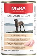 Pure Sensitive  MEAT Truthahn 400г (консервы для собак с индейкой)