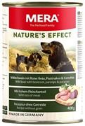 NATURE'S EFFECT Wildschwein  Mit Roter Bete, Pastinaken & Kartoffeln (консервы кабан с свеклой, пастернаком и картофелем)