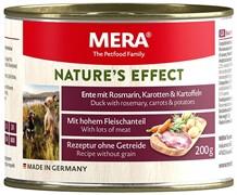 NATURE'S EFFECT Ente Mit Rosmarin, Karotten & Kartoffeln (консервы утка с розмарином, морковью и картофелем)